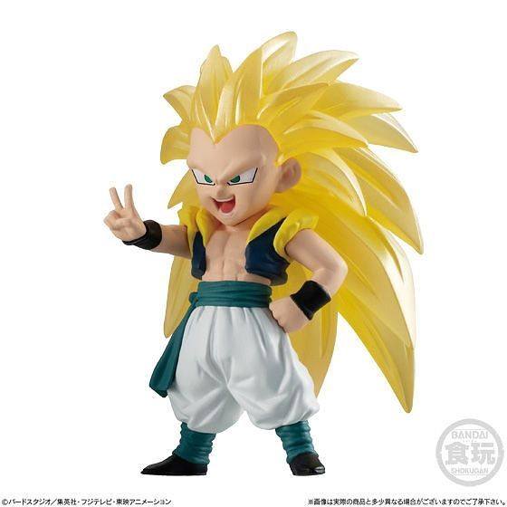 Dragon Ball Z Sticker Gotenks Super Saiyan 3