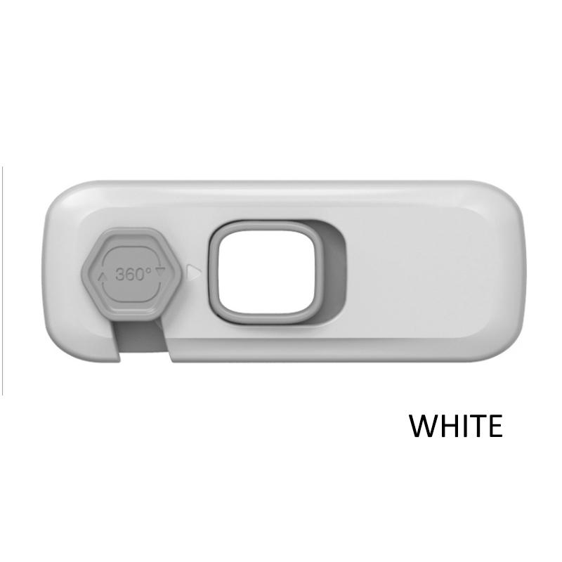 GDeal Child Anti Pinch Hand 360 Degree Knob Lock Door Drawer Cabinet Refrigerator Protection Safety Lock