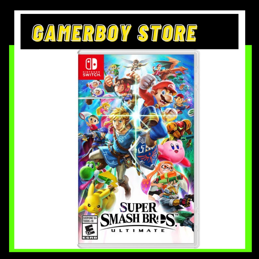 NINTENDO SWITCH SUPER SMASH BROS ULTIMATE (PHYSICAL)