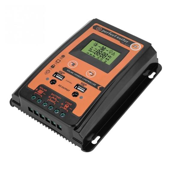ZOEYEC 30A 50A 70A Solar Charge Controller Solar Panel Battery Regulator