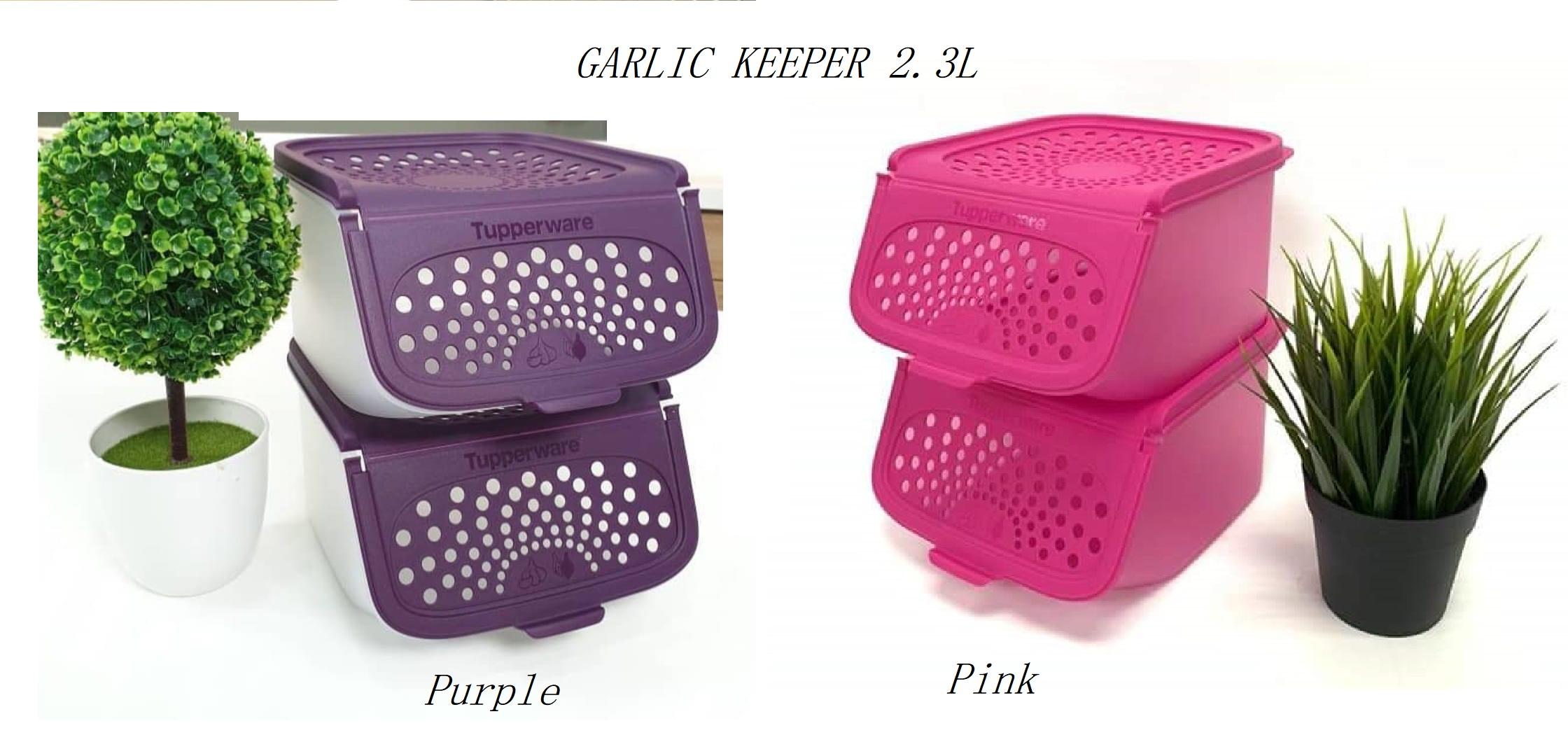 TUPPERWARE Garlic N All Keeper 2.3L (1pc)