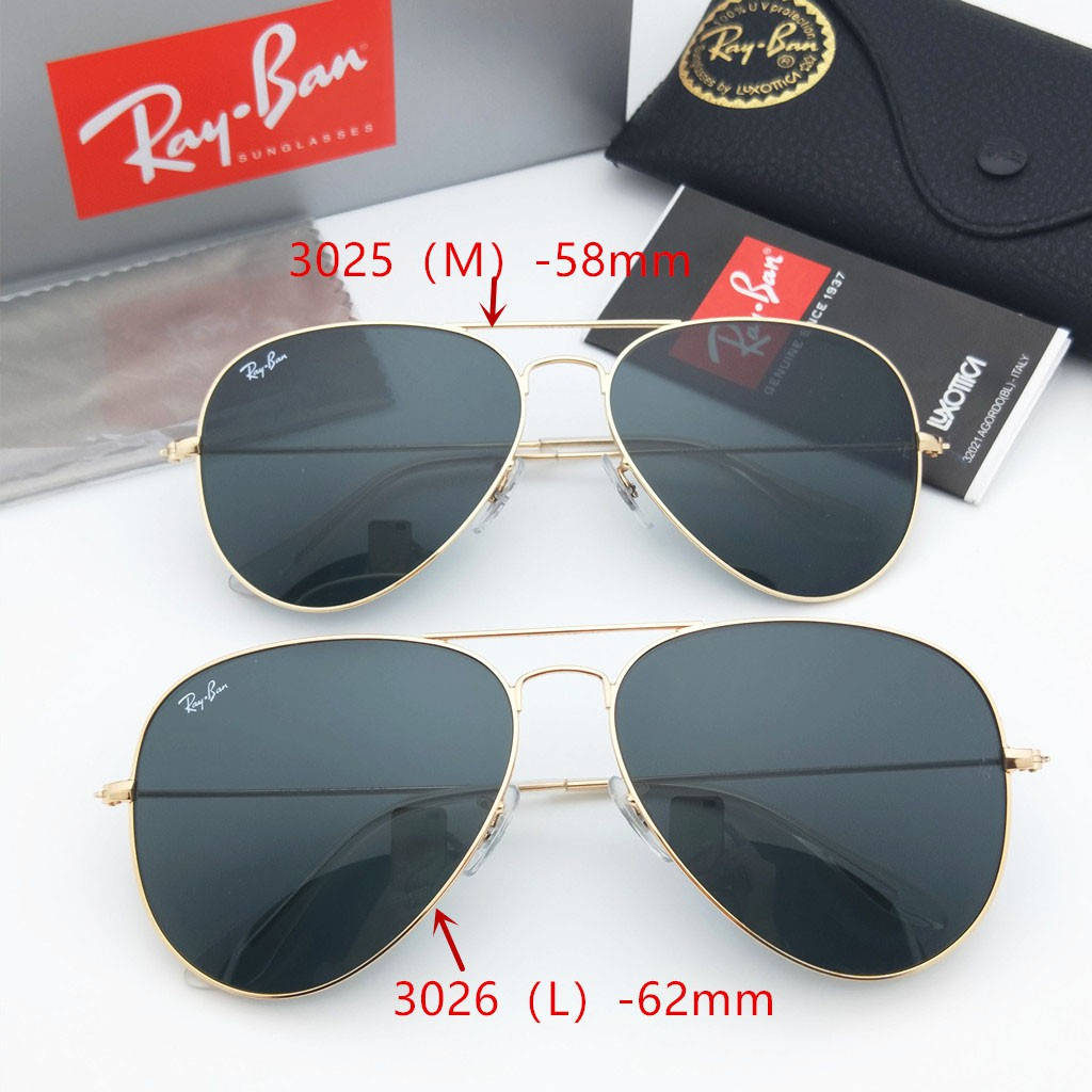 Rayban 3025 004 78 Aviator Gradient Polarized Sunglasses  17be4b9259