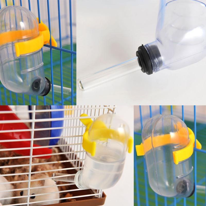 9b00670cdbc0 Pets Cute Leak-proof Water Bottle Hamster Rats Convenient Automatic ...
