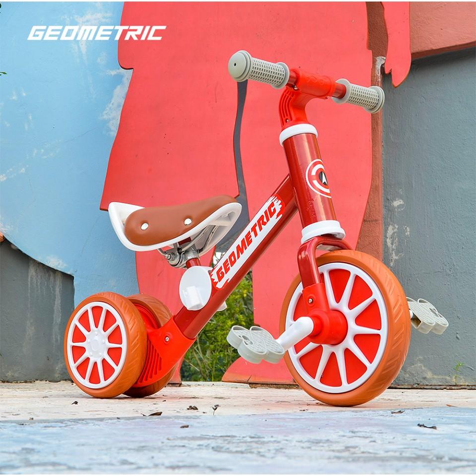 Geometric 2 In 1 Balance Bike / Push Bike
