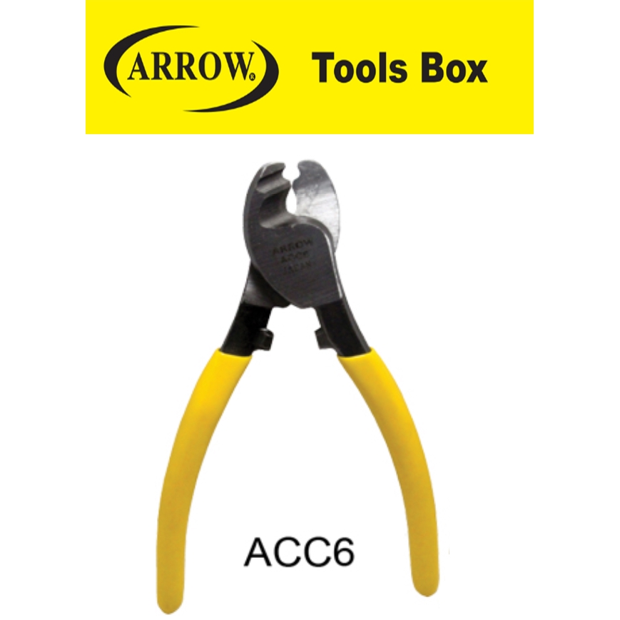 READY STOCK!! ARROW 6'' 8'' 10''  CABLE CUTTER EASY USE SAFETY MUDAH GOOD QUALITY