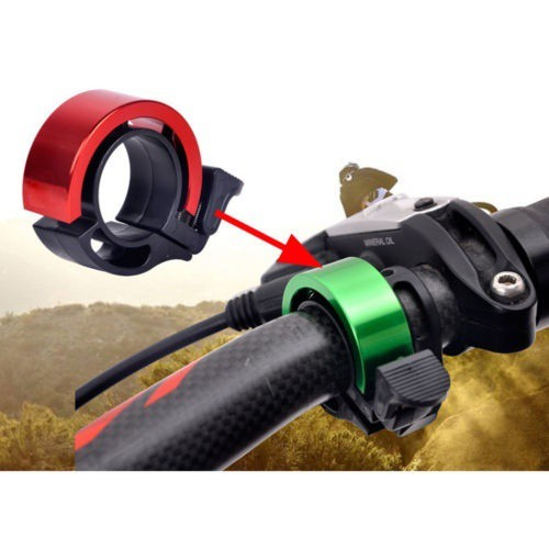 Hot Bicycle Bike Hat Loud Ring Alarm Metal Handlebar Bell Cap Horn Bicycle