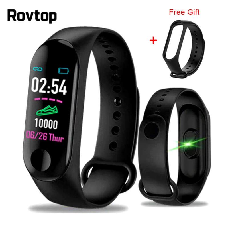 M3Plus Smart Wristband Smart Bracelet with Replacement Straps Smart Band  Heart Rate Activity Fitness Tracker Smart Watch