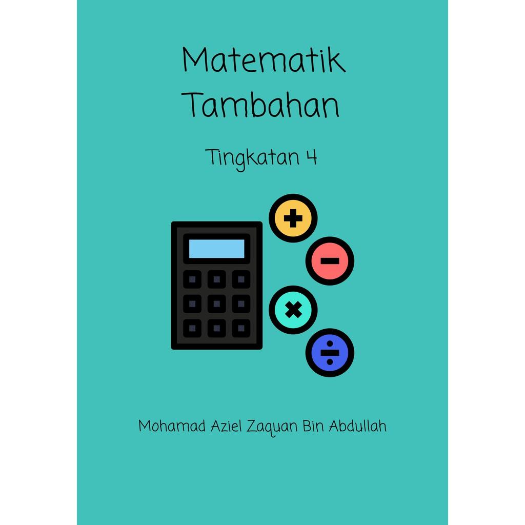 Modul Soalan Matematik Tambahan Tingkatan 4 KSSM | Shopee ...