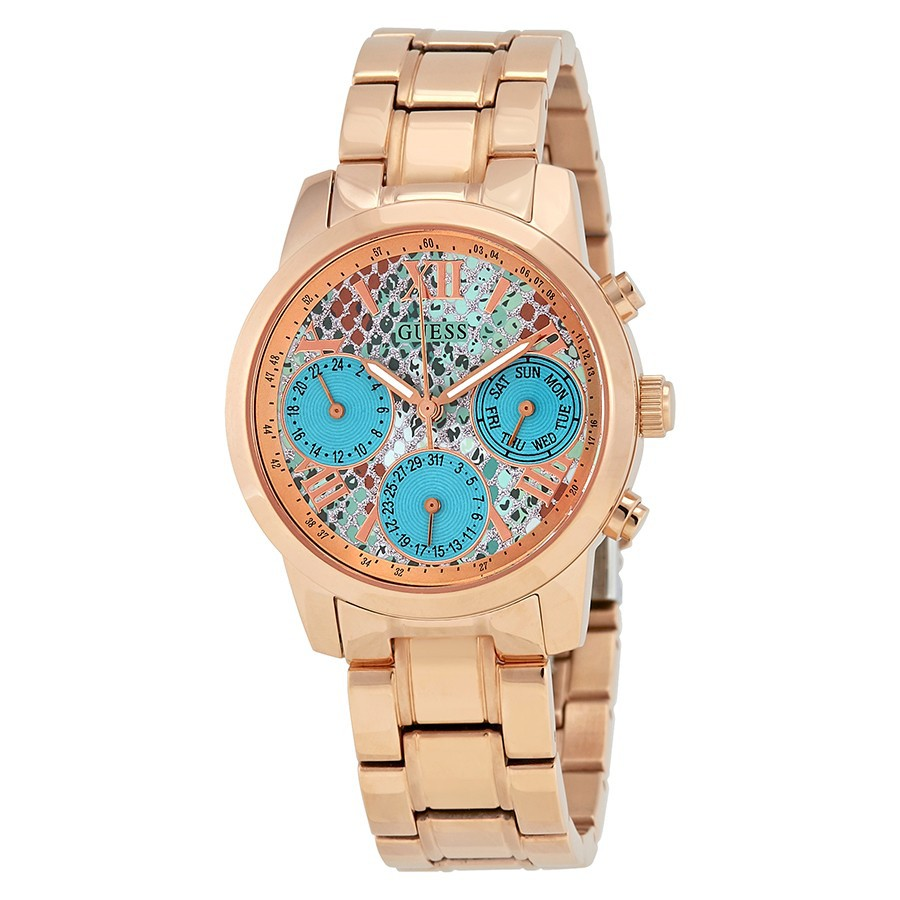 Jam Guess Mini Sunrise Multi Function Ladies Watch W0448l8 Shopee Fossil Es3913 Tangan Wanita Original Malaysia