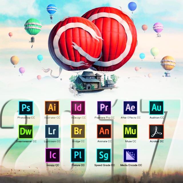 Adobe cc 2017 full set 64bit