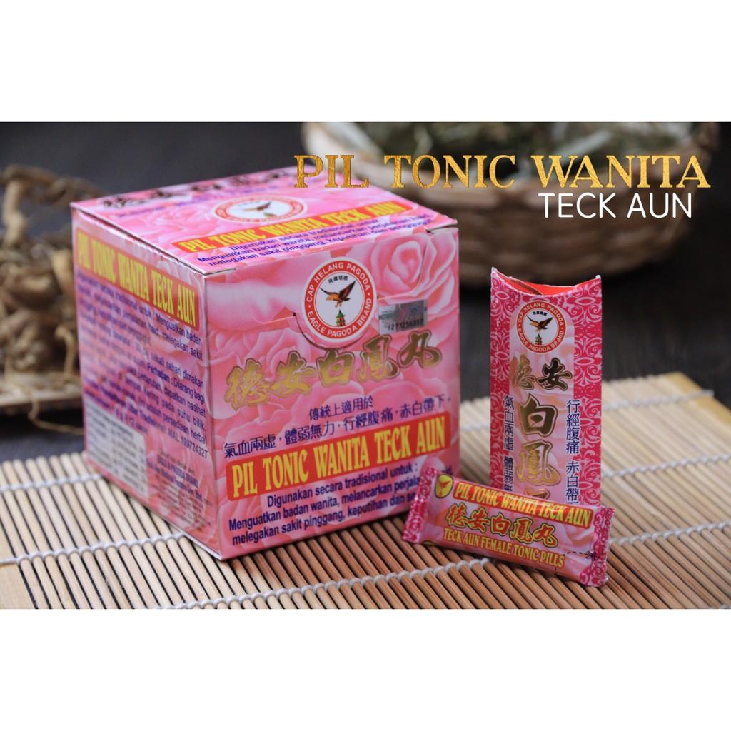 Pil Tonic Wanita Teck Aun 德安白凤丸 Teck Aun Female Tonic Pills