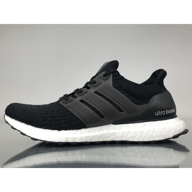 d420deddb0f3c Adidas Ultra Boost 3.0 Core Black Men s And Women s Unisex Sport Running  Shoes