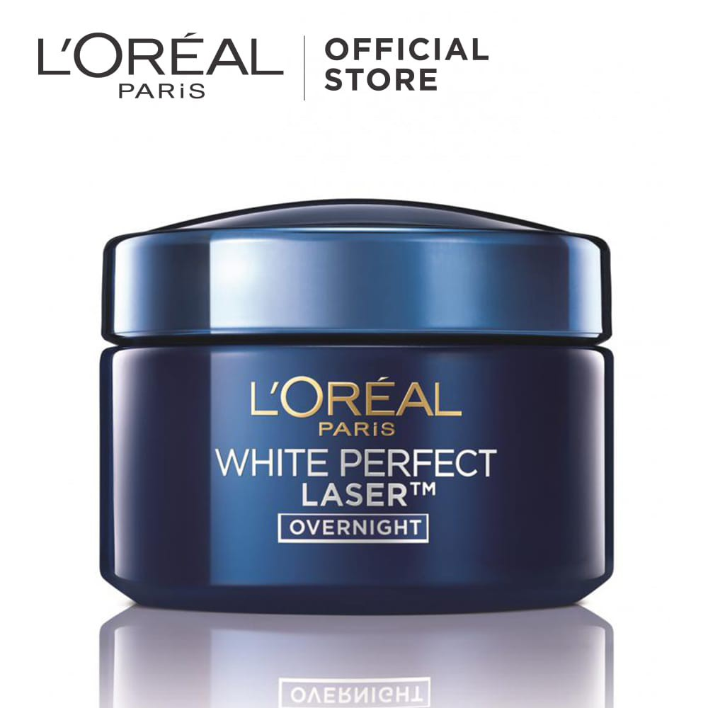 Loreal Paris White Perfect Laser Overnight Treatment 50ml Shopee Day Cream Spf 17 Pa Whitening Even Tone Malaysia