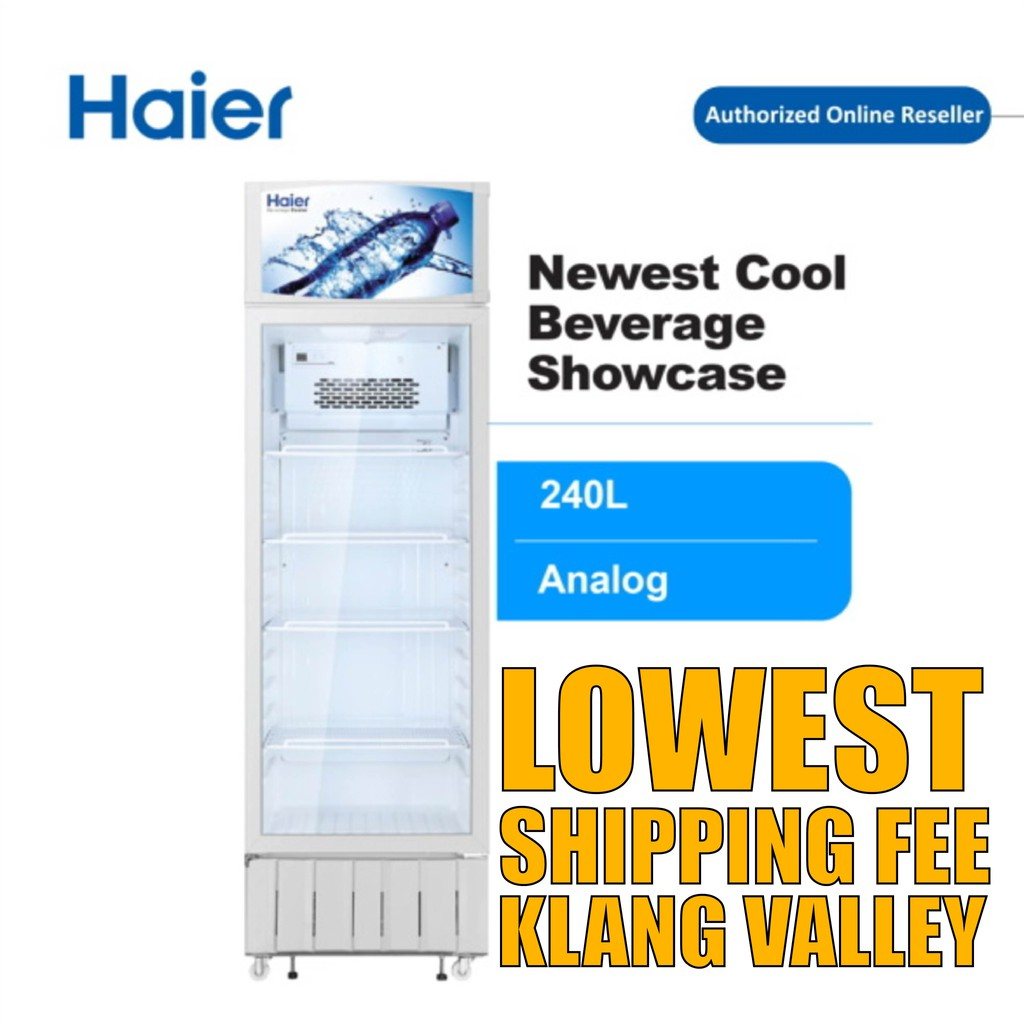 Haier SC-248 240L Show Case Display Chiller with R600a Refrigerant