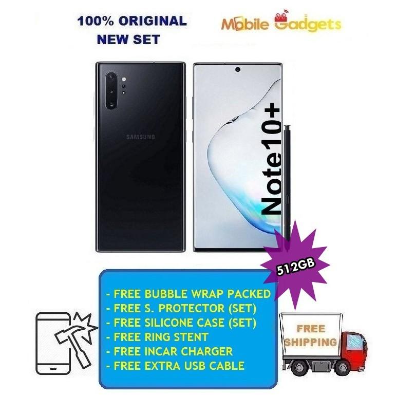 Samsung Galaxy Note 10+ (12GB+512GB) 100% Original New Set