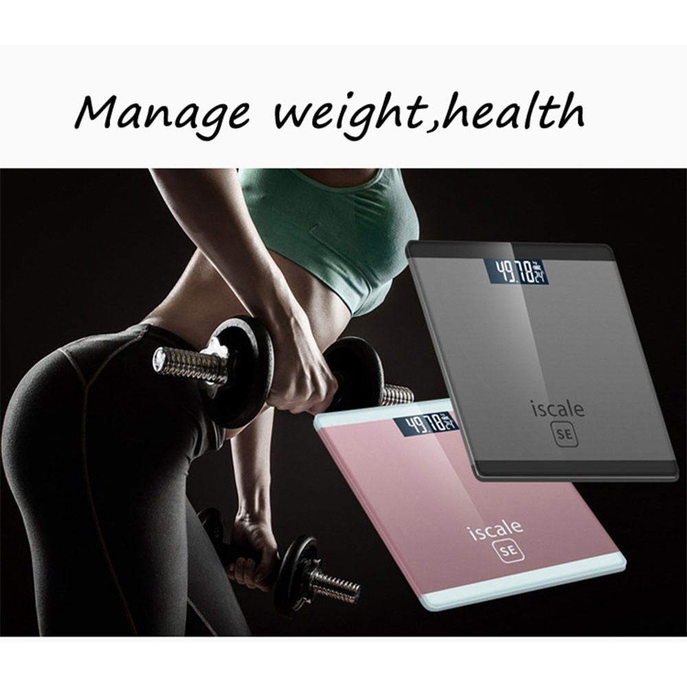🔥Ready Stock 🔥Delly Professional I scale Weight MACHINE SE Digital Body Scale High Accuracy Scale (Ramdom color)
