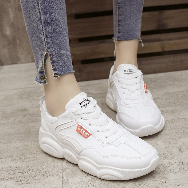 83e626b35 Small white shoes female 2019 spring bear shoes winter women's shoes old shoes  r