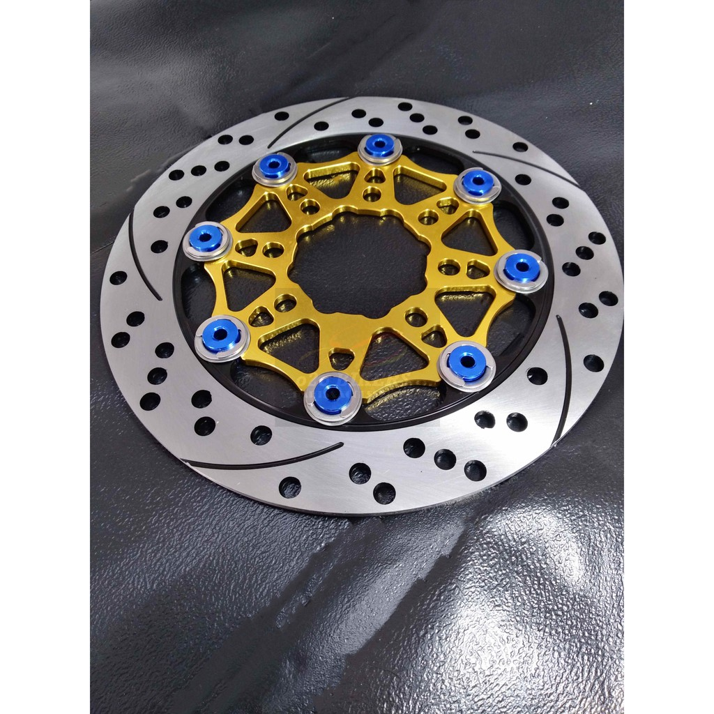 220MM UNIVERSAL RACING DISC PLATE MRC BRAKE DISC ALLOY NEW COLOUR NEW DESIGN WAVE 110 Y110 BONUS 110 LC135 SRL110 Z0060