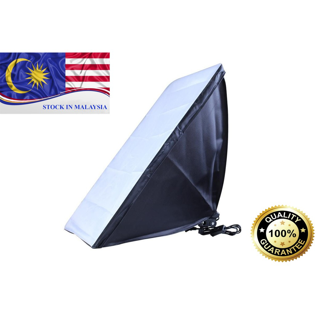Studio Photo Soft box 50cm x 70cm Softbox Continuous Lighting Diffuser (Ready Stock In Malaysia)