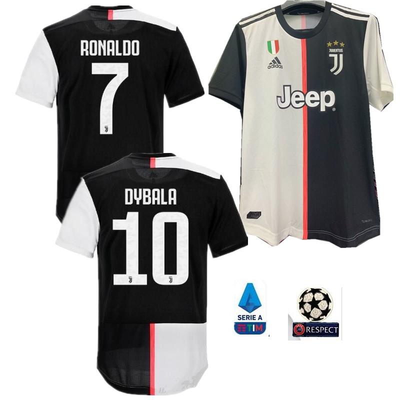 quality design 2796b 3272a S-3XL PLAYER VERSION 19 20 Juventus soccer jerseys 7 RONALDO DYBALA 2019  2020 home MANDZUKIC football shirts JUVE