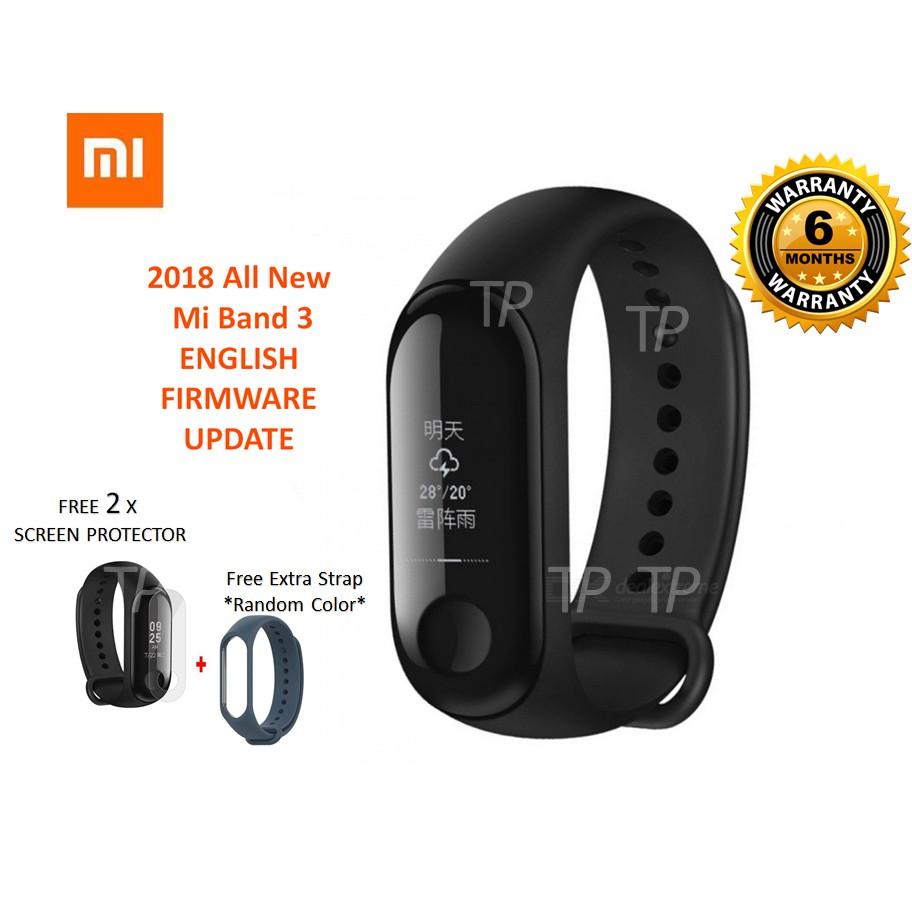 [FREE GIFTS ! ] Xiaomi Mi Band 3 Smart Wristband Fitness Tracker OLED  Display