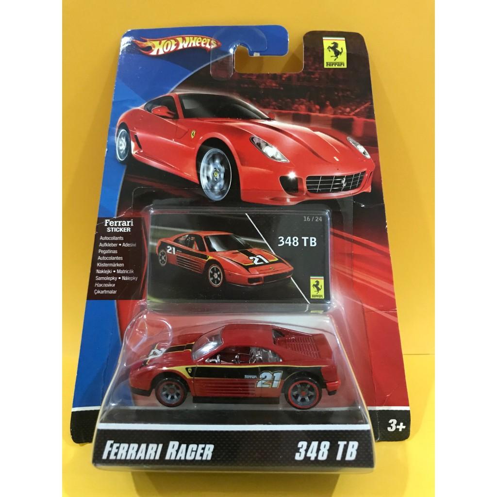 Hotwheels Ferrari Racer 348tb 21