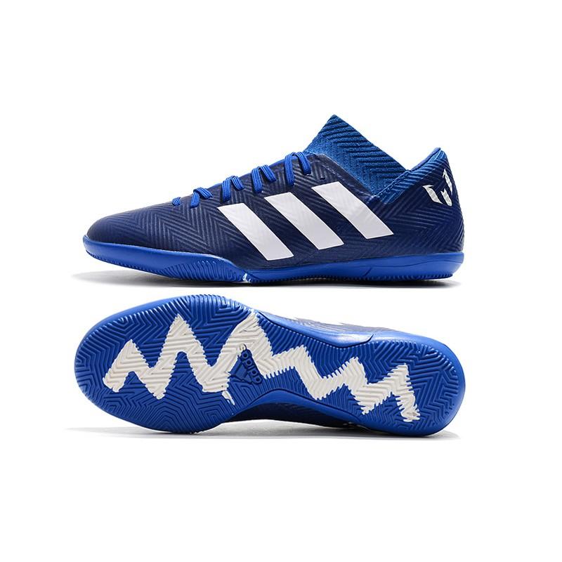 f85bf16bf4214 Genuine 100%Adidas World Cup Messi Nemeziz Tango 18.3 IC Indoor Men's  Soccer Shoes