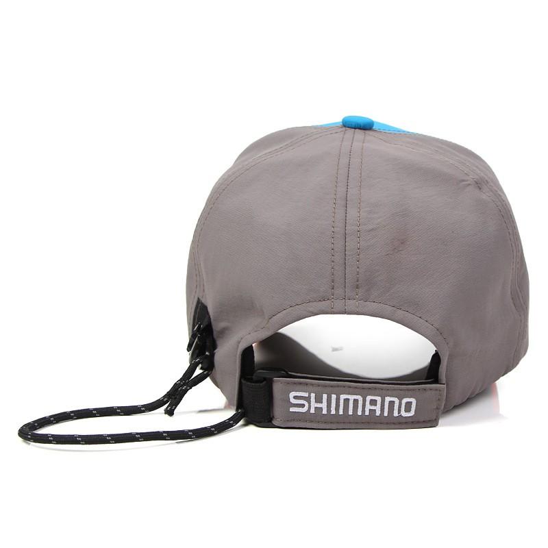 bfe453ae6 Shimano Outdoors Fishing Hat Breathable Sports Men/Women Snapback ...