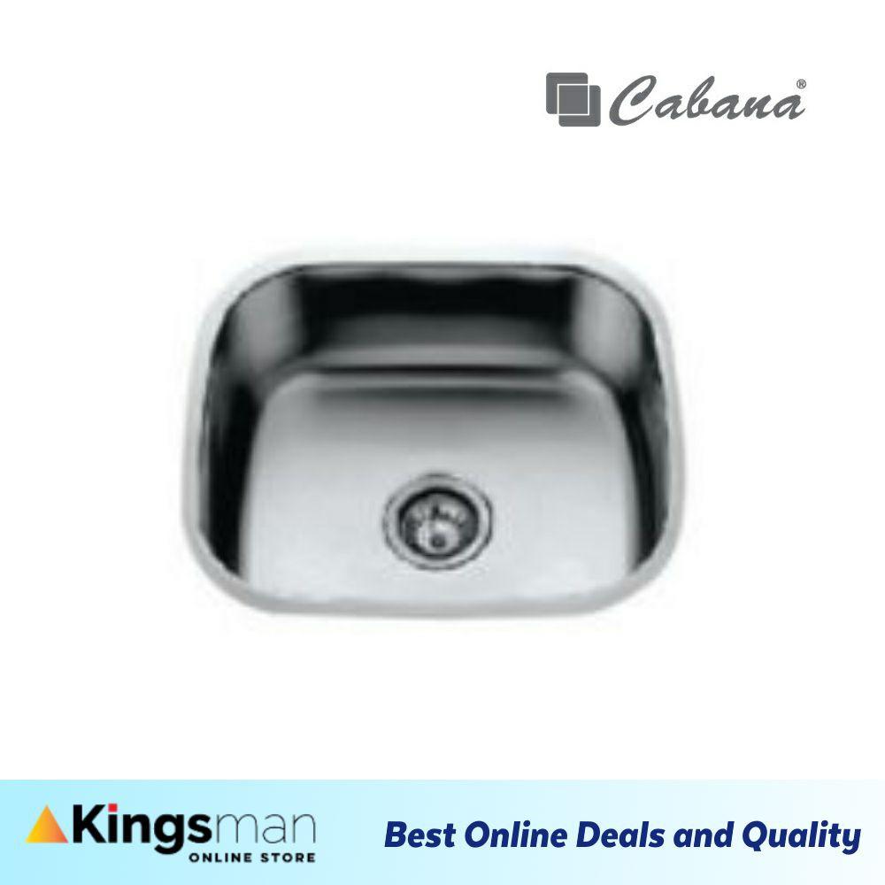 [Kingsman] Undermount Stainless Steel Cabana Home Living Kitchen Sink Single Bowl Ready Stock - CKS4238