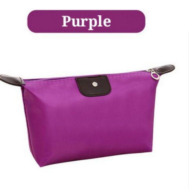 [ READY STOCK ]  Waterproof Cosmetic Makeup Bag Pencil Case Storage Pouch Purse Handbag Fashion Travel Cosmetic Bag