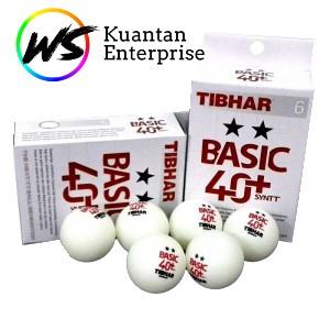 【100% Original】Tibhar Table Tennis/Ping Pong Ball  (2 Star/3 Star Basic 40+ SYNTT)