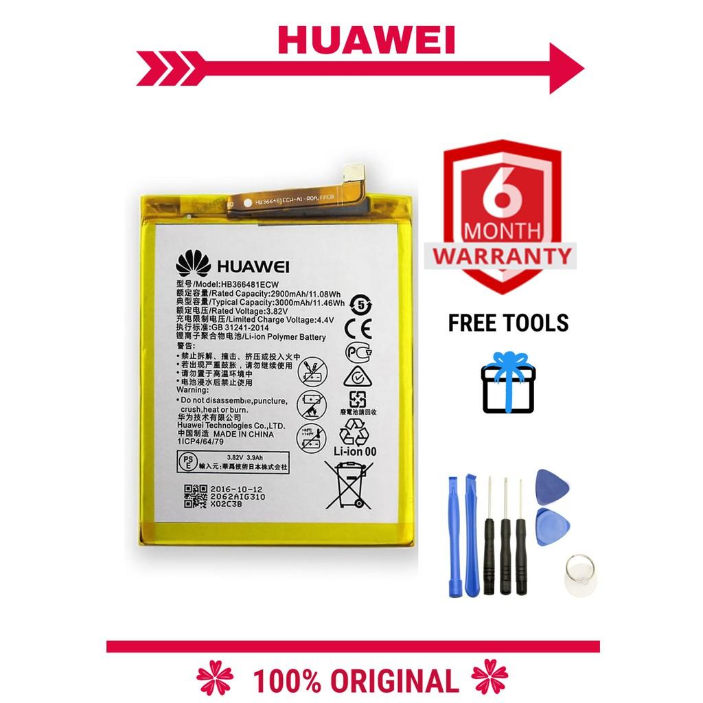 『BBY』100% ORI Huawei Honor 8 9 9i P9 P10 Lite P20 V9 Play G9 5C 7C 7S NOVA  3E Enjoy 7S 8E GT3 HB366481ECW 3100mAh