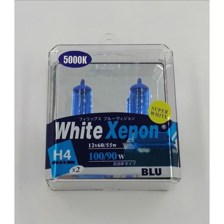 BBLH455WWX-H4 12V 60/55W ( 100/90W ) 5000K BULB ( WHITE XENON )