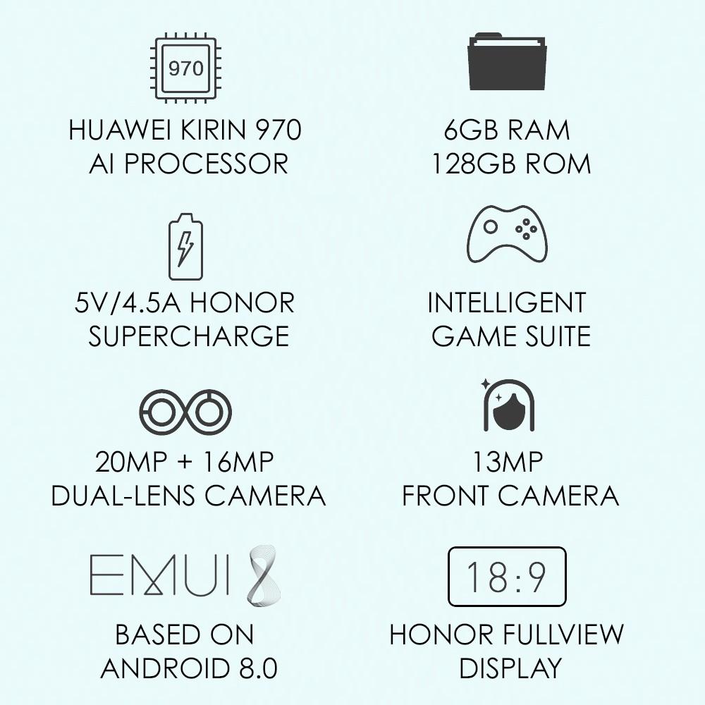 Honor View 10 (6GB + 128GB)   Shopee Malaysia