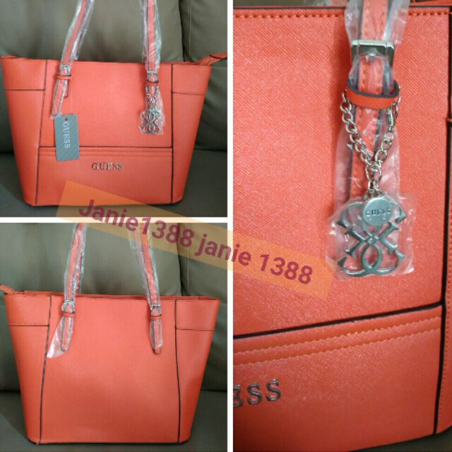 75cdfbab631d 100% Original Guess Hand Bag with Serial Number
