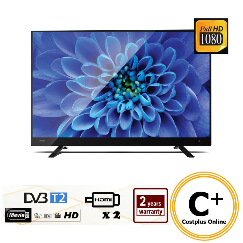 "TOSHIBA 40"" FULL HD LED TV DVBT2 40L3750VM"