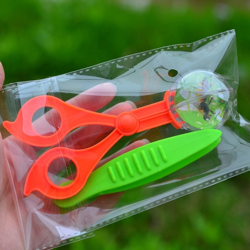Nature Exploration Toy Plant Insect Study Tool Plastic Sc