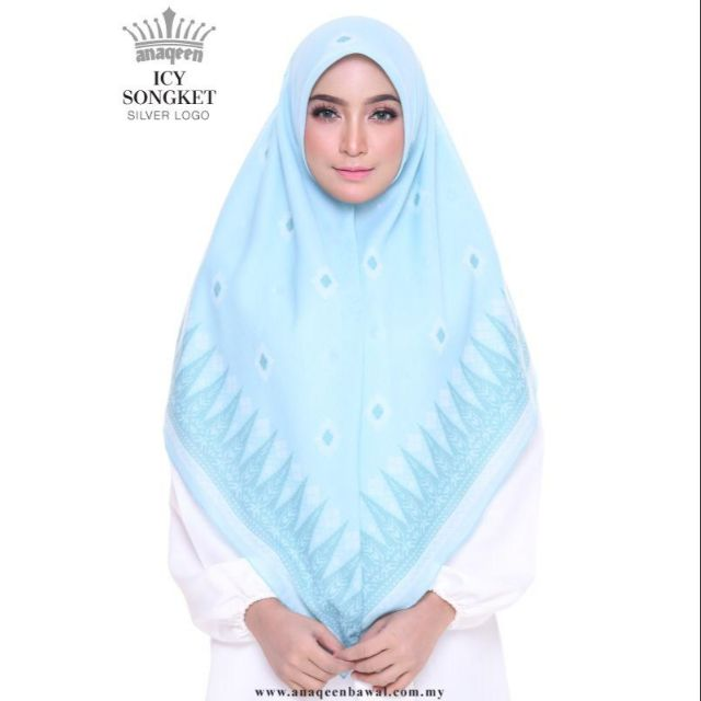 anaqeen silver logo - icy songket