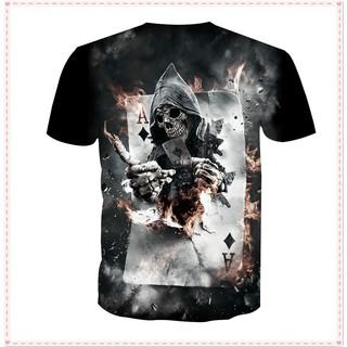 3D T Shirt Men Women Skull Tshirt 3D Print Humor Tee Shirt Homme De Marque  Man Camisa Masculina Mens