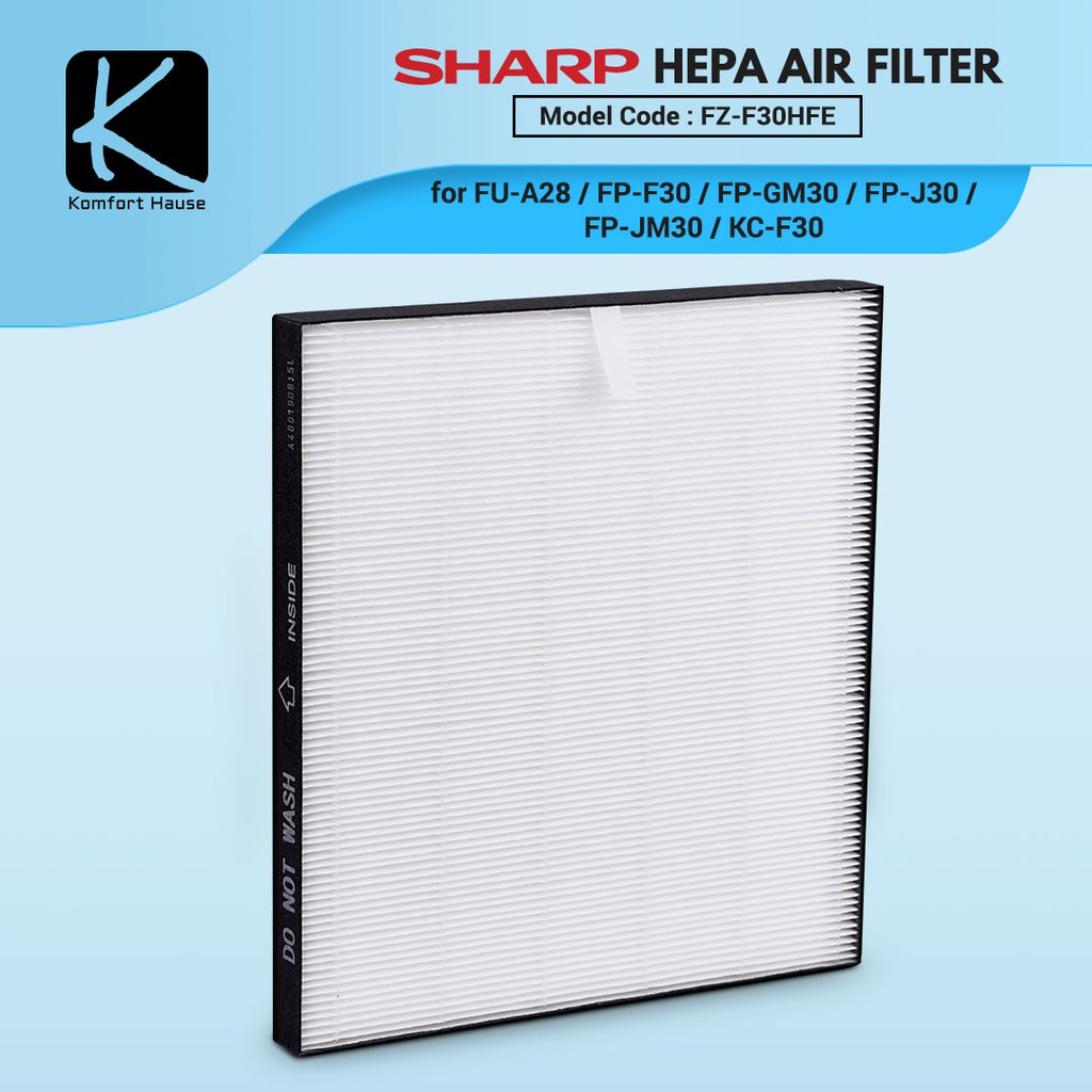 ORIGINAL SHARP FZ-F30HFE FZF30HFE FZY28FE HEPA filter penapis udara FPF30LH FPGM30LB KCF30LW FPJ30LB FPJM30LB FUA28EW | Shopee Malaysia