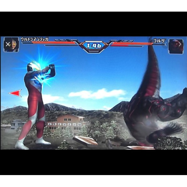 PS2 Game Ultraman Fighting Evolution 2, Japanese version Fighting Game / PlayStation 2