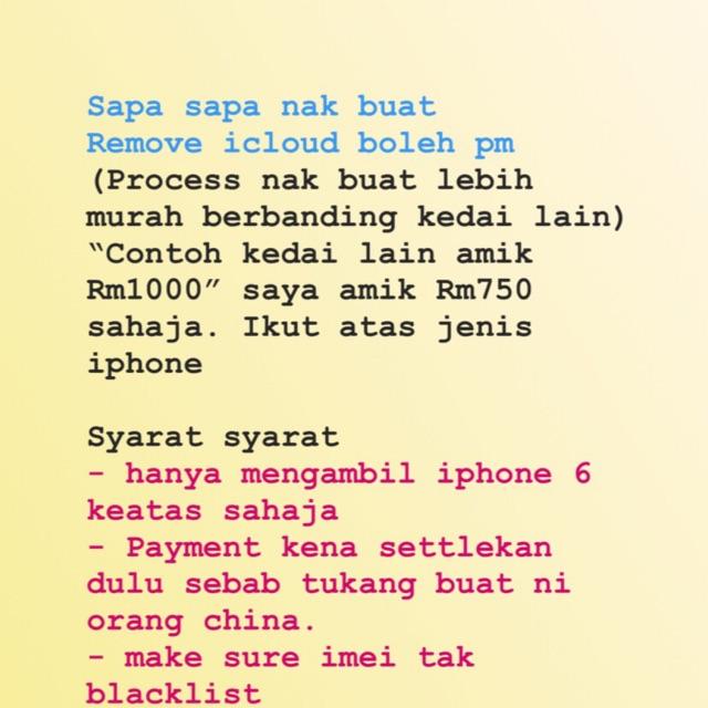 Remove apple id @ icloud secara jauh