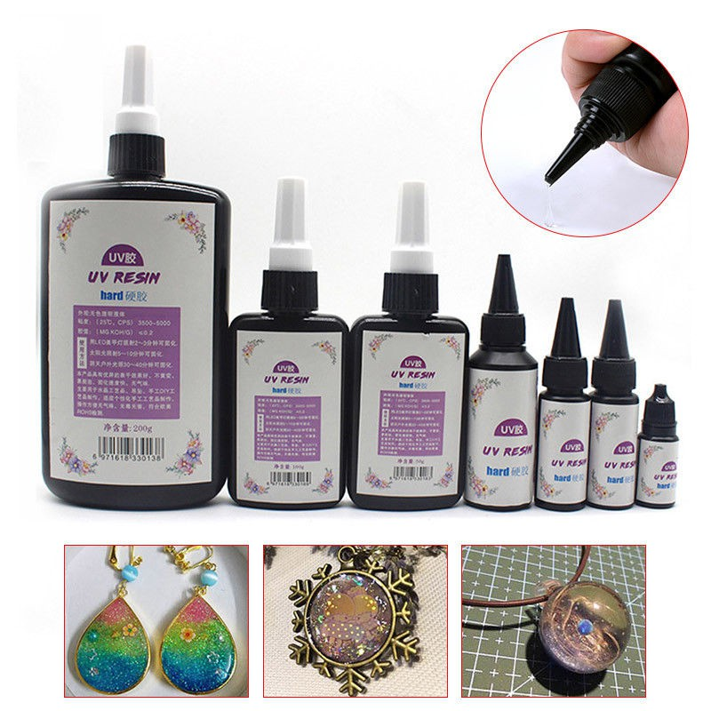 DIY UV Ultraviolet Resin Curing Solution Quick-drying Non-toxic Sun  Activated