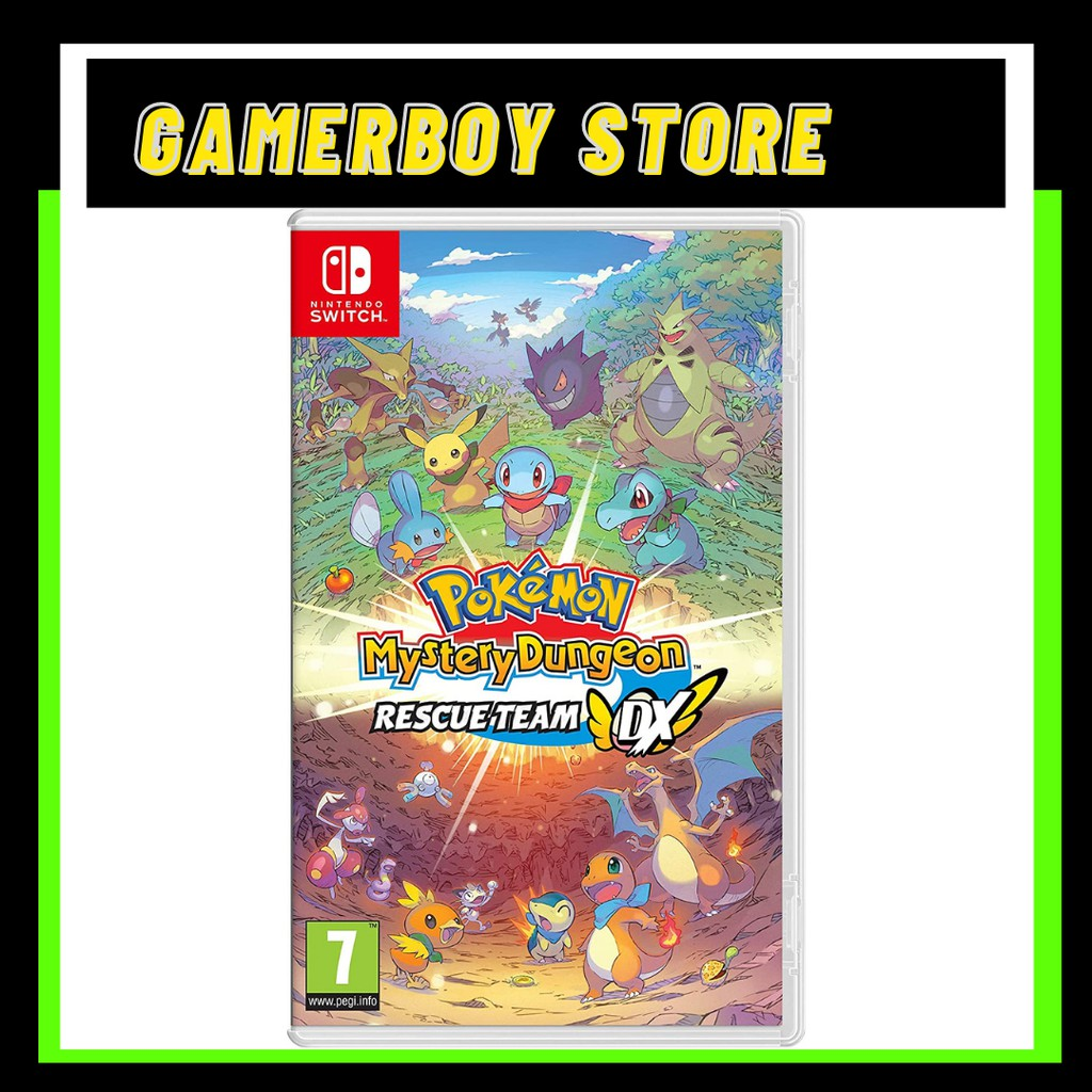 NINTENDO SWITCH POKEMON MYSTERY DUNGEON : RESCUE TEAM DX (PHYSICAL)