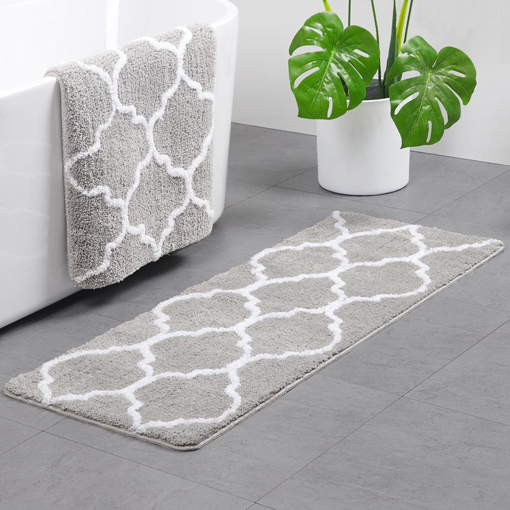 Corolla Flocking Carpet Bathroom