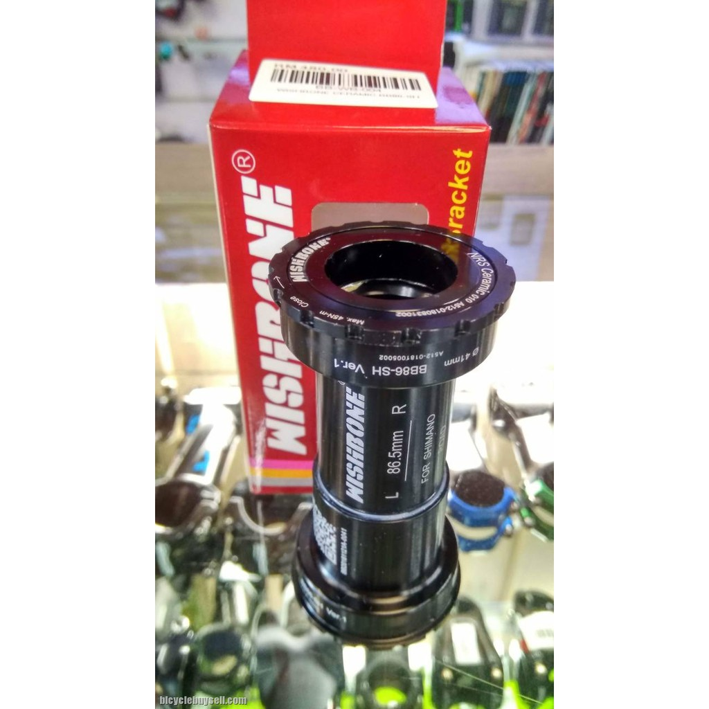 GUB Bike Ceramic Bearings Bottom Bracket External Type 24mm For Shimano FSA Hollowtech II Used