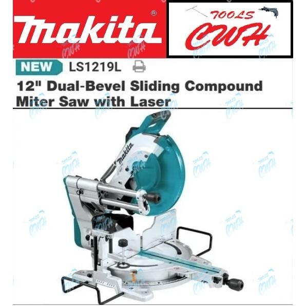 "Makita LS1219L 12"" Slide Compound Miter Saw 1800W- - - - - STANLEY HIKOKI MILWAUKEE DEWALT"