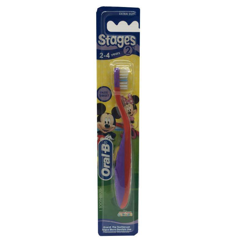 Oral-B Toothbrush 2-4 Years Mickey Mouse (Extra Soft)