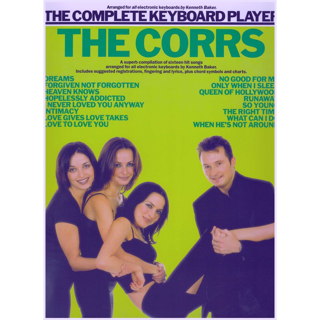 The Complete Keyboard Player The Corrs / Keyboard Book