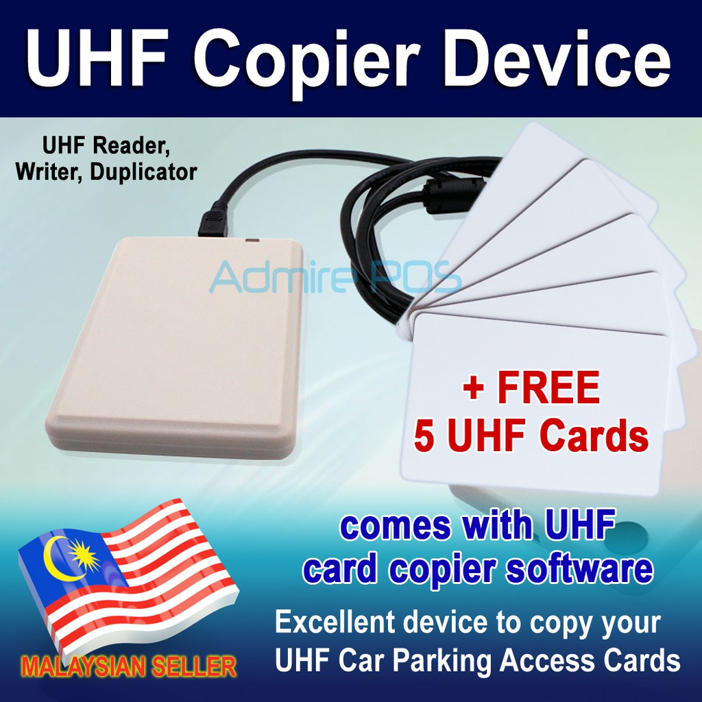 UHF Copier Device for Duplicating Long Range Car Parking Access Card EPC  Writer